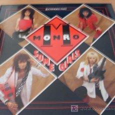 Discos de vinilo: MONRO ( SOME GIRLS ) MAXI SINGLE ALEMANIA 1987 ( NM / NM) . Lote 18237802