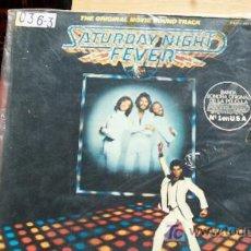 Discos de vinilo: BEE GEES-SATURDAY NIGHT FEVER-DOBLE LP-1977-. Lote 18506603