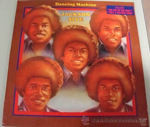 JACKSON FIVE - DANCING MACHINE - LP MOTOWN ESPAÑOL 1986 (Música - Discos - LP Vinilo - Funk, Soul y Black Music)