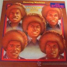 Discos de vinilo: JACKSON FIVE - DANCING MACHINE - LP MOTOWN ESPAÑOL 1986. Lote 18239673
