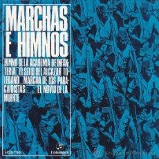 Discos de vinilo: EP - MARCHAS E HIMNOS - EL NOVIO DE LA MUERTE // HIMNO DE LA ACADEMIA DE INFANTERIA + 2. Lote 27359554