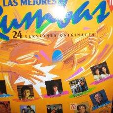 Discos de vinilo: LAS MEJORES RUMBAS LP DOBLE. Lote 26523664