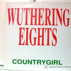 Discos de vinilo: COUNTRY GIRL - WUTHERING EIGHTS (KATE BUSH) - MAXI BLANCO Y NEGRO 1992 (EURO HOUSE) BPY. Lote 27438850