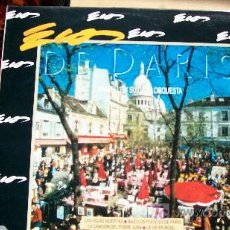 Discos de vinilo: ECOS DE PARIS-CARAVELLE Y SU GRAN ORQUESTA-LP-1990-. Lote 18267498