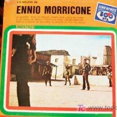 Discos de vinilo: ENNIO MORRICONE-LA MUERTE TENIA UN PRECIO-LP-1981-LO MEJOR DE-. Lote 18267694