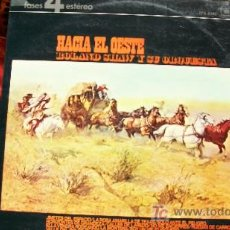Discos de vinilo: ROLAND SHAW Y SU ORQUESTA-HACIA EL OESTE-LP-1978. Lote 18267757