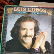 Discos de vinilo: LUIS COBOS-TEMPO D ITALIA-ORQ SINF DE LA RAI-LP-1987-. Lote 18267850