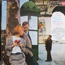 Discos de vinilo: LP-LA ORQUESTA DE CUERDAS DE MELACRINO CON EL TRIO MUSETTE DE PARIS - ABRIL EN PARIS. Lote 18268888