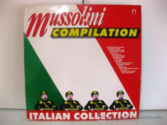 MUSSOLINI COMPILATION - ITALIAN COLLECTION - LP OUT 1989 (ITALO-DISCO, ITALODANCE) BPY (Música - Discos - LP Vinilo - Techno, Trance y House)