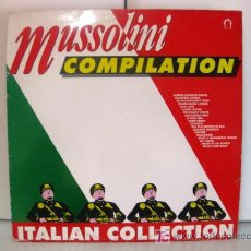 Discos de vinilo: MUSSOLINI COMPILATION - ITALIAN COLLECTION - LP OUT 1989 (ITALO-DISCO, ITALODANCE) BPY. Lote 26862289