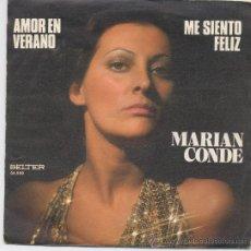 Discos de vinil: MARIAN CONDE,AMOR DE VERANO DEL 76. Lote 18325028