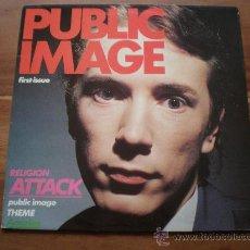 Discos de vinilo: PUBLIC IMAGE (PIL) - PUBLIC IMAGE LTD - (UK-VIRGIN-1978) JOHN LYDON, ROTTEN, SEX PISTOLS - PUNK LP. Lote 25220246
