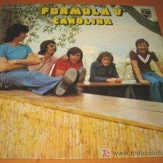 Discos de vinilo: FORMULA V - CAROLINA - LP - PHILIPS 1975 SPAIN 6328 173 ORIGINAL - 12 CANCIONES COMO NUEVO / N MINT. Lote 25963387