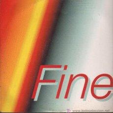 Discos de vinilo: TONY - FINE - MAXISINGLE 1993 - MADE IN ITALY. Lote 18350284