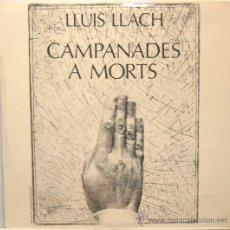 Discos de vinilo: LLUIS LLACH CAMPANADES A MORTS LP MOVIEPLAY 1976. Lote 18340626