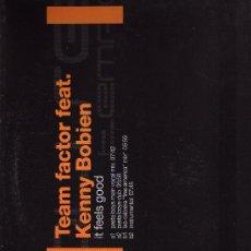 Discos de vinilo: DISCO LP 33 RPM - TEAM FACTOR FEAT - KENNY BOBIEN.. Lote 18342842