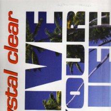 Disques de vinyle: DISCO LP 33 RPM - CRYSTAL CLEAR - LIVE YOUR LIFE - TE REMIXES - TEMPO MUSIC, S. A.. Lote 18362642