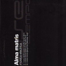 Discos de vinilo: DISCO LP 33 RPM - ALMA MATRIS - MUSICA ELÉCTRICA - HOUSE TEMPO - TEMPO MUSIC, S. A.. Lote 18363200