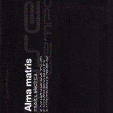 Disques de vinyle: DISCO LP 33 RPM - ALMA MATRIS - MUSICA ELÉCTRICA - HOUSE TEMPO - TEMPO MUSIC, S. A.. Lote 18363568
