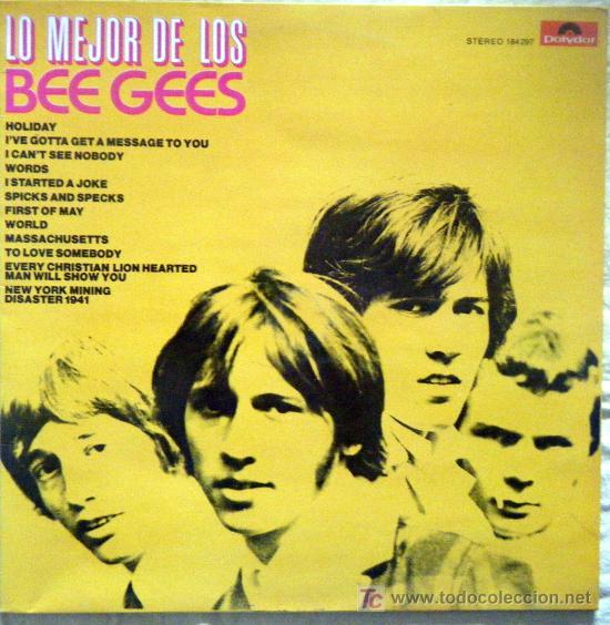 LO MEJOR DE LOS BEE GEES (Música - Discos - LP Vinilo - Pop - Rock - Extranjero de los 70)