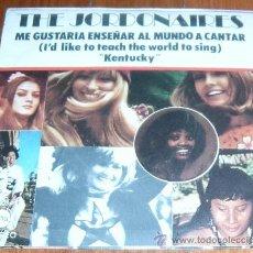 Discos de vinilo: SINGLE THE JORDONAIRES - ME GUSTARÍA ENSEÑAR AL MUNDO A CANTAR - KENTUCKY (1972). Lote 18385169