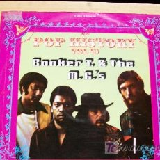 Discos de vinilo: BOOKER T.&THE M.G.S-POP HISTORY-VOL 13-1971-DOBLE LP-. Lote 18506526