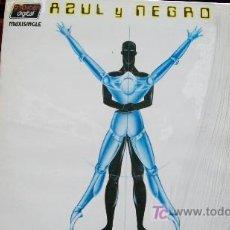 Discos de vinilo: AZUL Y NEGRO--MAXI 45 RPM-1983-NO TENGO TIEMPO-. Lote 19602666