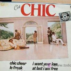 Discos de vinilo: CHIC -LP 1978. Lote 18499883