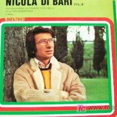 Discos de vinilo: NICOLA DI BARI-LO MEJOR VOL II-1979. Lote 18499942