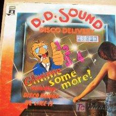 Discos de vinilo: DD SOUND-1,2,3.4...GIMME SOME MORE-LP 1978. Lote 18500388