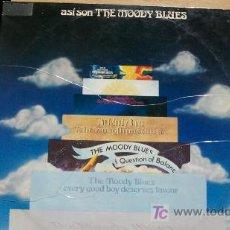 Discos de vinilo: THE MOODY BLUES-ASI SON-DOBLE LP-1975. Lote 18506405