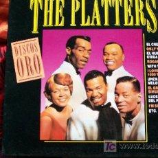 Discos de vinilo: THE PLATTERS-DISCOS DE ORO-LP. Lote 18529374