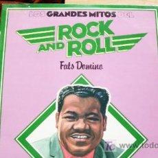 Discos de vinilo: FATS DOMINO-GRANDES MITOS-R & R-LP-. Lote 18529458