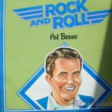 Discos de vinilo: PAT BOONE-GRANDES MITOS DEL R&R-LP-. Lote 18529844