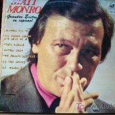Discos de vinilo: MATT MONRO-GRANDES EXITOS EN ESPAÑOL-. Lote 19602584