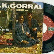 Discos de vinilo: O.K. CORRAL - TONY DALLARA (VINILO SINGLE EP ESPAÑOL 1959). Lote 18463545