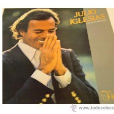 Discos de vinilo: JULIO IGLESIAS CANTA EN FRANCES LP FIDELE PORTADA DOBLE LETRA DE CANCIONES 1981 CBS SPA. Lote 18477874