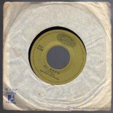 Discos de vinilo: DISCO SINGLE 45 RPM - JUAN LEGIDO - EL BESO - TRES VECES GUAPA.. Lote 18492929