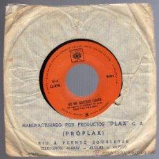 Discos de vinilo: DISCO SINGLE 45 RPM - LOS PANCHOS - NO ME QUIERAS TANTO - SIN UN AMOR.. Lote 18493567
