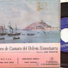 Discos de vinilo: EP 45 RPM / CORO DE CAMARA DEL ORFEON DONOSTIARRA / FESTARA . Lote 18500623
