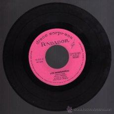 Discos de vinilo: DISCO SINGLE 45 RPM - LOS MARISMEÑOS - VIVA EL PERU - SI VAS AL COBRE - Y DOS MÁS.. Lote 24521370