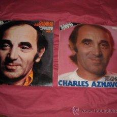 Discos de vinilo: CHARLES AZNAVOUR 4 LPS VOL 1 Y 2 MOVIPLAY 1981 VER FOTO ADICIONAL. Lote 18500987