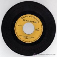 Discos de vinilo: DISCO SINGLE 45 RPM - TU AMOR DE AYER - EN UNA FLOR - TEMA DE LARA - EXTRAÑOS EN LA NOCHE.. Lote 18502039
