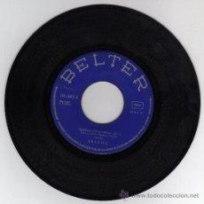 Dischi in vinile: DISCO SINGLE 45 RPM - BRAULIO - SOBRAN LAS PALABRAS - A TI QUE HOY DESPIERTAS A LA VIDA.. Lote 18510252