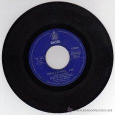 Discos de vinilo: DISCO SINGLE 45 RPM - VUELVO A MI PUEBLO (VITTI `NA CROZZA) - UN AMOR (M. ALEJANDRO).. Lote 18511106