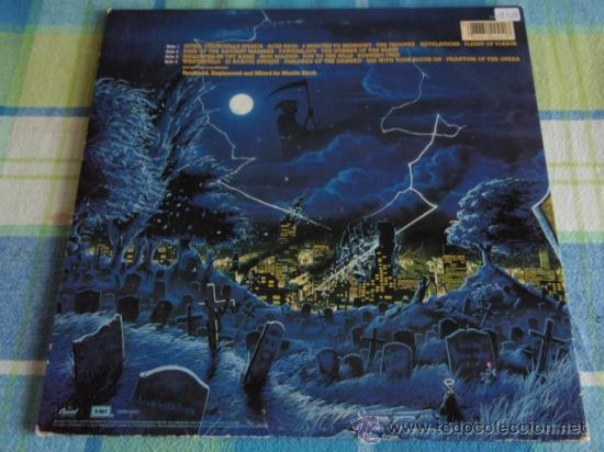 Discos de vinilo: IRON MAIDEN 'LIVE AFTER DEATH' CALIFORNIA-USA 1985 2LPS CAPITOL RECORDS - Foto 2 - 166576260