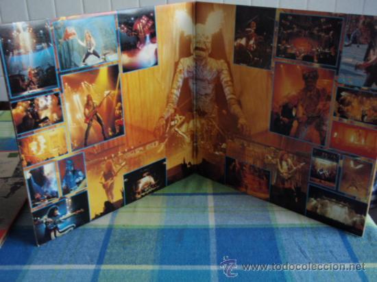 Discos de vinilo: IRON MAIDEN 'LIVE AFTER DEATH' CALIFORNIA-USA 1985 2LPS CAPITOL RECORDS - Foto 3 - 166576260