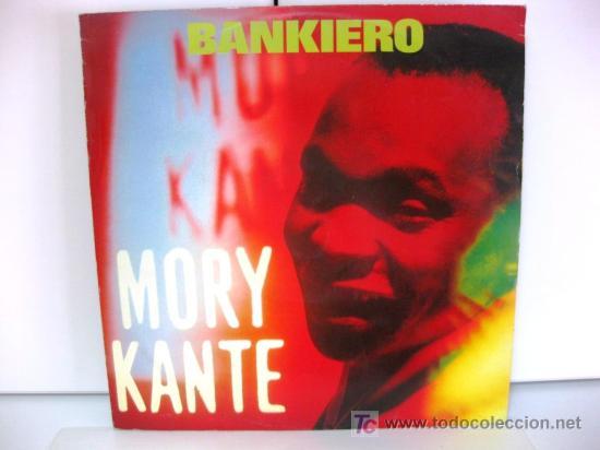 MORY KANTE - BANKIERO - MAXI BARCLAY 1990 (HOUSE) BPY (Música - Discos de Vinilo - Maxi Singles - Étnicas y Músicas del Mundo)