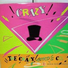 Discos de vinilo: THE CRAZY LORDS & CO - CRAZY - MAXI ESPERA RECORDS 1989 (ACID HOUSE, EURO HOUSE, NEW BEAT) BPY. Lote 26639085