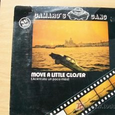 Discos de vinilo: CAMAROS GANG-MOVE A LITTLE CLOSER-MAXI 45RPM-1984-. Lote 19190776